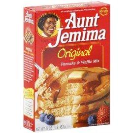 Mix à gaufres et pancakes Aunt Jemima Original - 453 gr