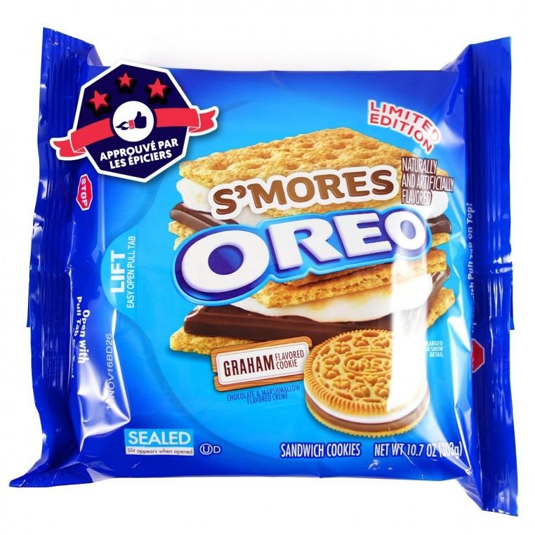 Oreo Smores Cookies