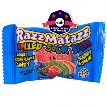 RazzMatazz - Bandeau Acidulé - Fruits Rouges