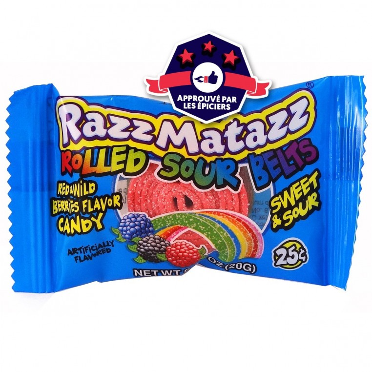 RazzMatazz - Bandeau Acidulé - Fruits Rouges