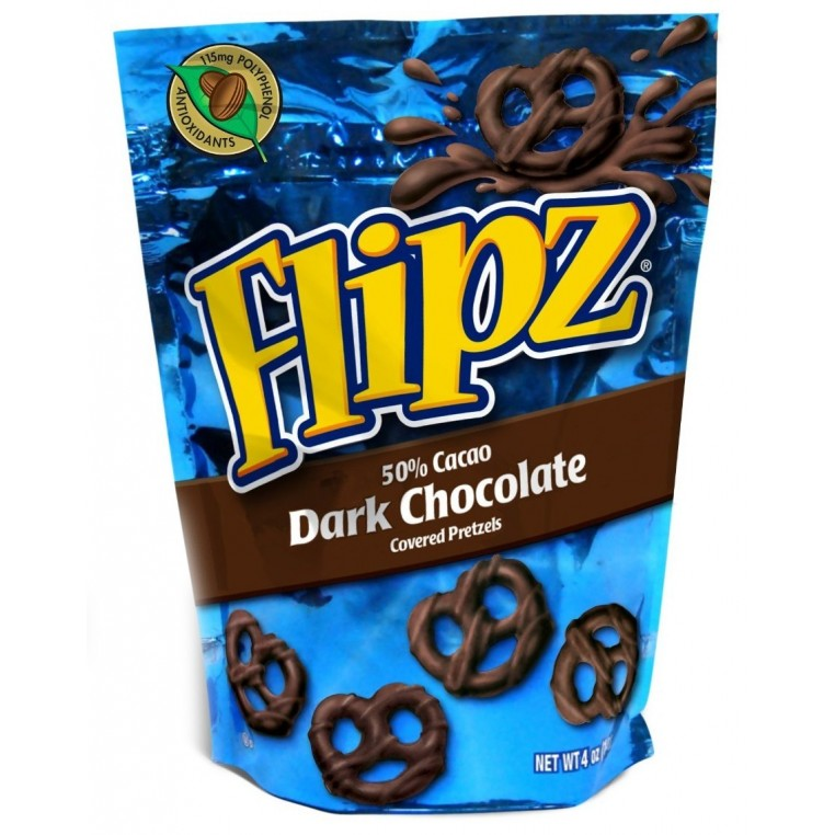 Pretzel Flipz Dark Chocolate