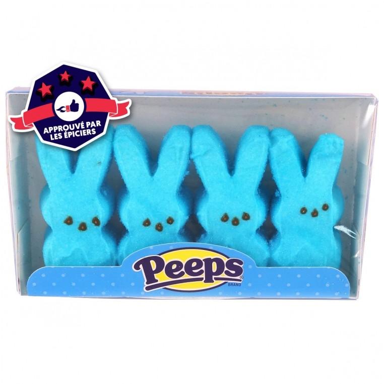 Peeps - 4 Lapins Bleus
