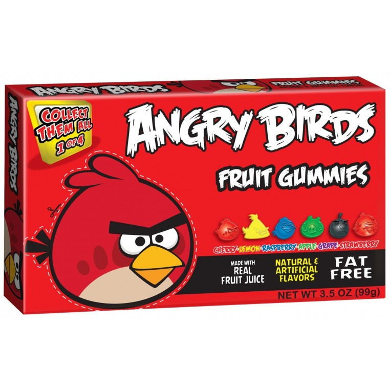 Angry Birds Gummies Red
