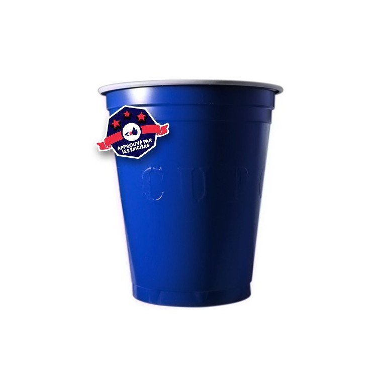 20 Blue Cups - 18oz