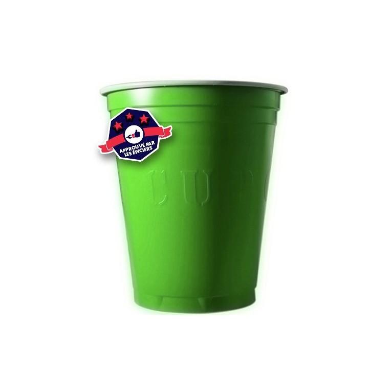 20 x Green Cups - 18 Oz