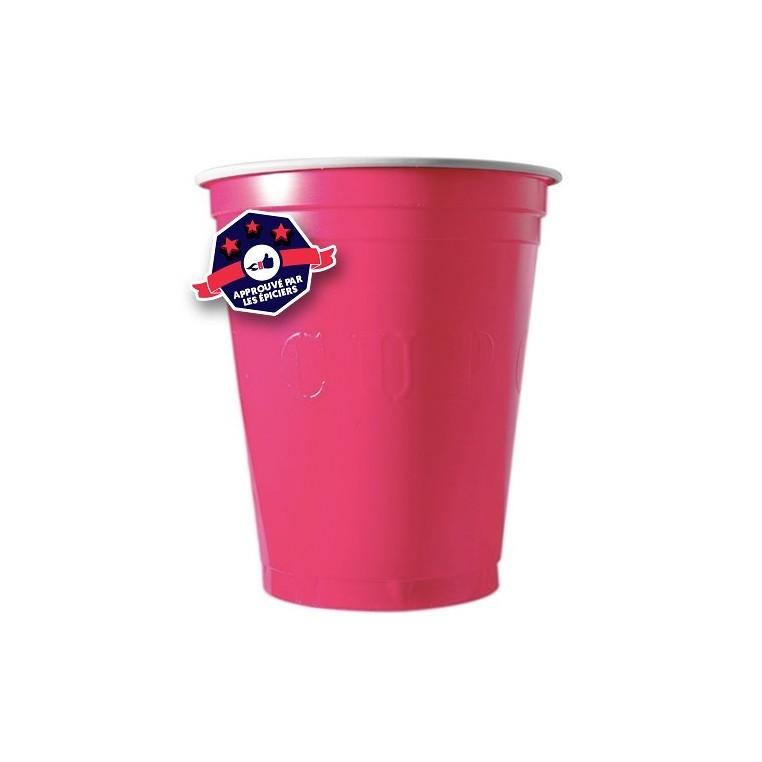 20 x Pink Cups 18 Oz