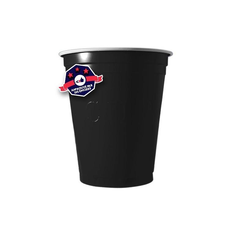 20 x Black Cups - 18 Oz