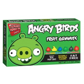 Angry Birds Gummies Green