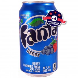 Fanta Berry - Myrtille / Framboise - 355ml