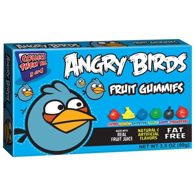 Angry Birds Gummies Blue