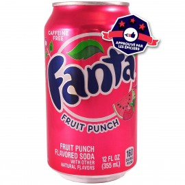 Fanta Fruit Punch - Multifruits - 355ml