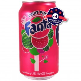 Fanta Fruit Punch - Multifruits - 355ml
