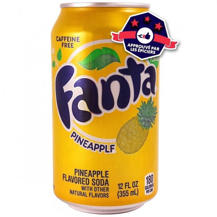Fanta Pineapple - Ananas - 355ml