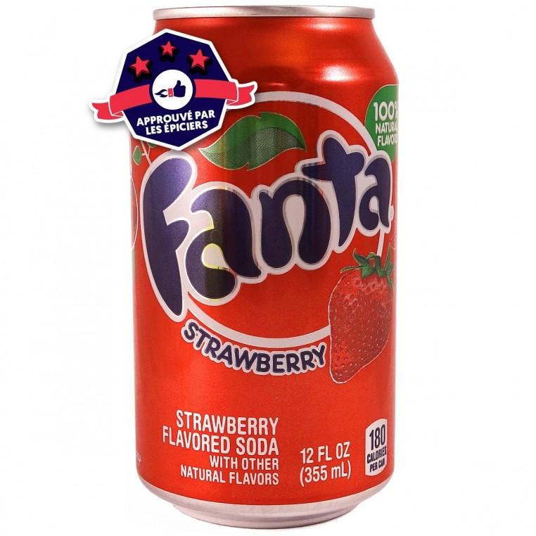 Fanta Strawberry - Fraise - 355ml