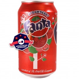 Fanta Strawberry - Fraise - 355ml