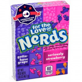 Nerds Raisins & Fraises - Willy Wonka