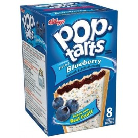 Pop Tarts à la Myrtille