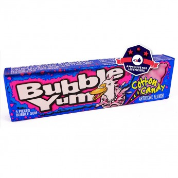 Bubble Yum - Chewing gums goût Barbe à Papa