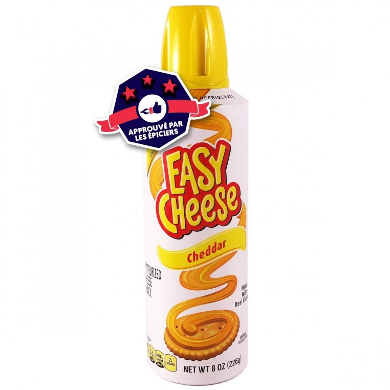 Cheddar en Spray - Easy Cheese