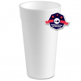 Styrofoam Cups - 32 oz - 25 gobelets