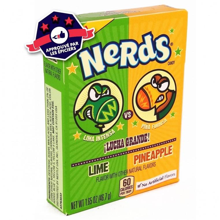 Nerds Citron / Ananas - Lucha Grande - Wonka