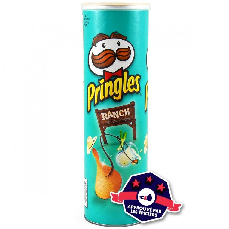 Chips Pringles parfum Ranch - 181g