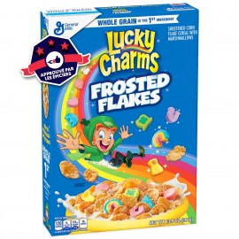 Céréales Lucky Charms - Frosted Flakes - 391g