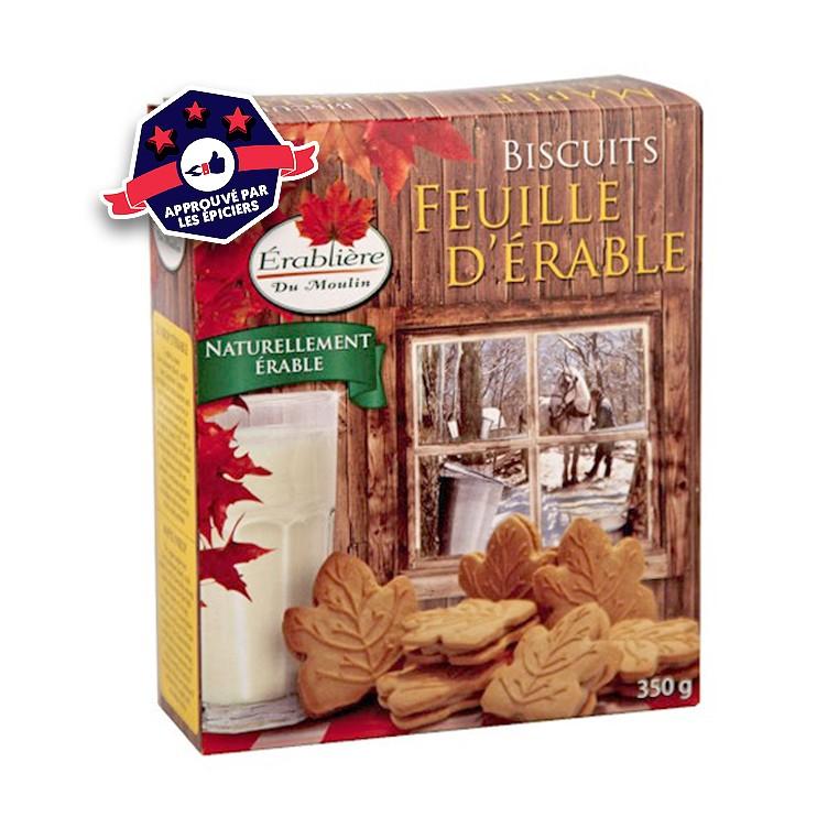 Biscuits ˆarômatisés à l'érable - 350g