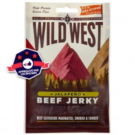 Beef Jerky - Jalapeno - Wild West - 25g