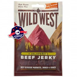 Beef Jerky - Wild West - Jalapeño 70G