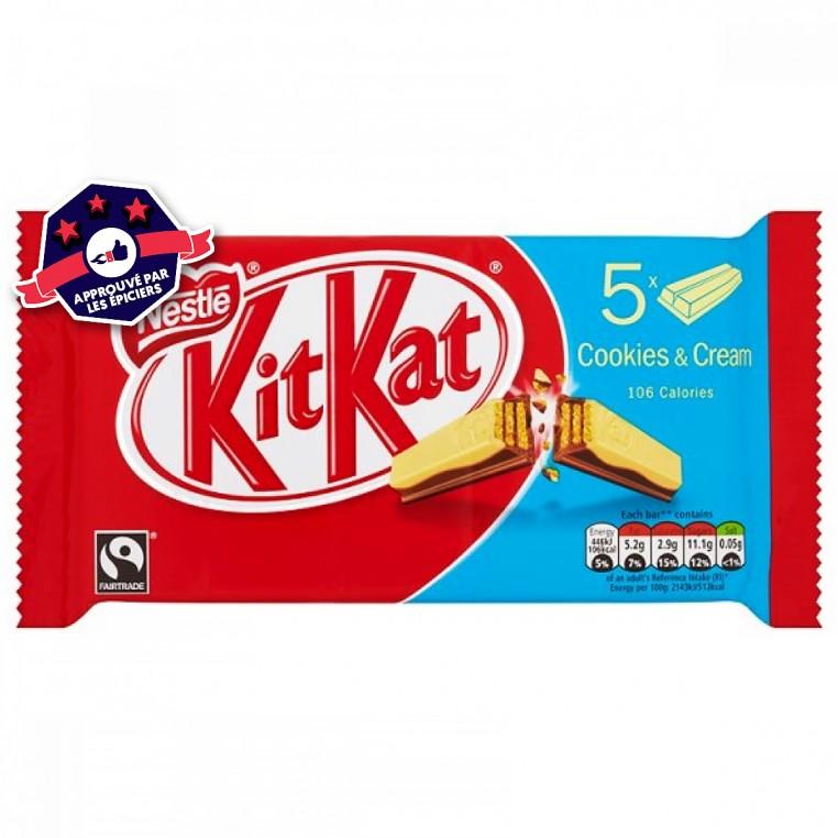 KIT KAT - Cookies & Creme - 5 x 20.7 G