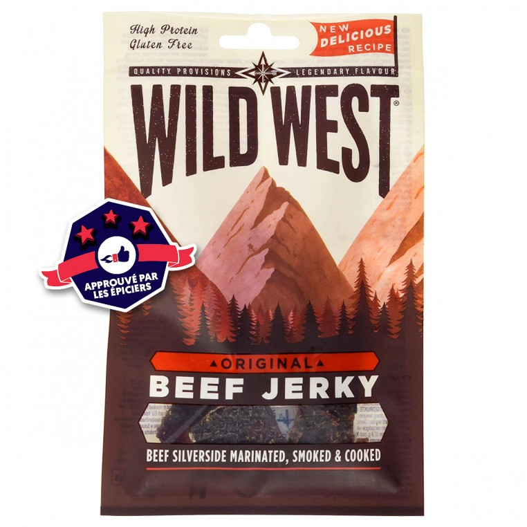 Beef Jerky - Wild West - Original - 70g