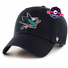 Casquette - San Jose Sharks - '47 CLEAN UP