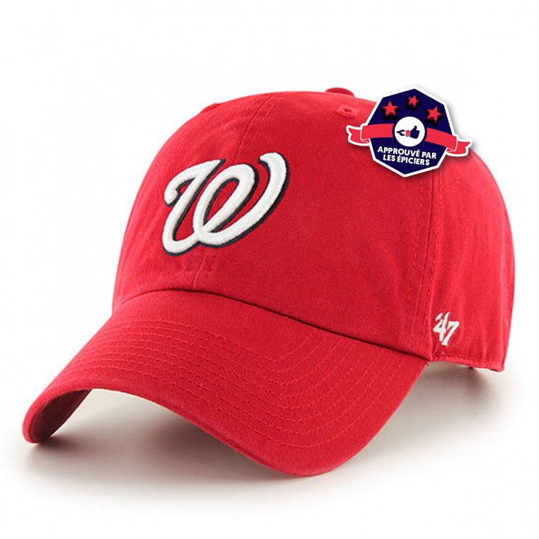 Casquette - Washington Nationals - '47 CLEAN UP