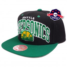 Snapback - SuperSonics - Mitchell & Ness