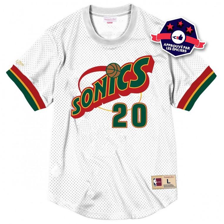 T-shirt Crewneck - Gary Payton - Mitchell and Ness