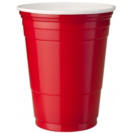 20 Gobelets Rouge - Red Cups - 53cl
