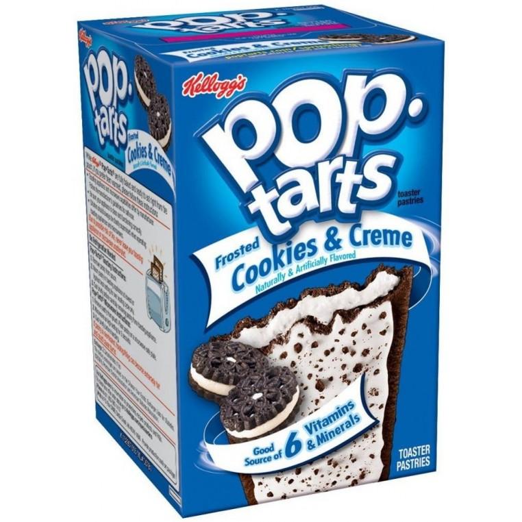 Kelloggs Cookies & Creme Pop Tarts - 400g