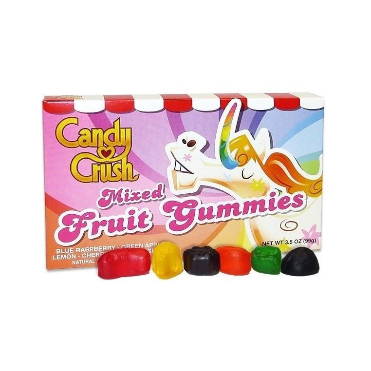 Candy Crush Mixed Fruit GummiesTheatre Box 3 OZ (85g) [12 Pack]