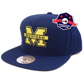 Snapback - Michigan Wolverines -Mitchell & Ness