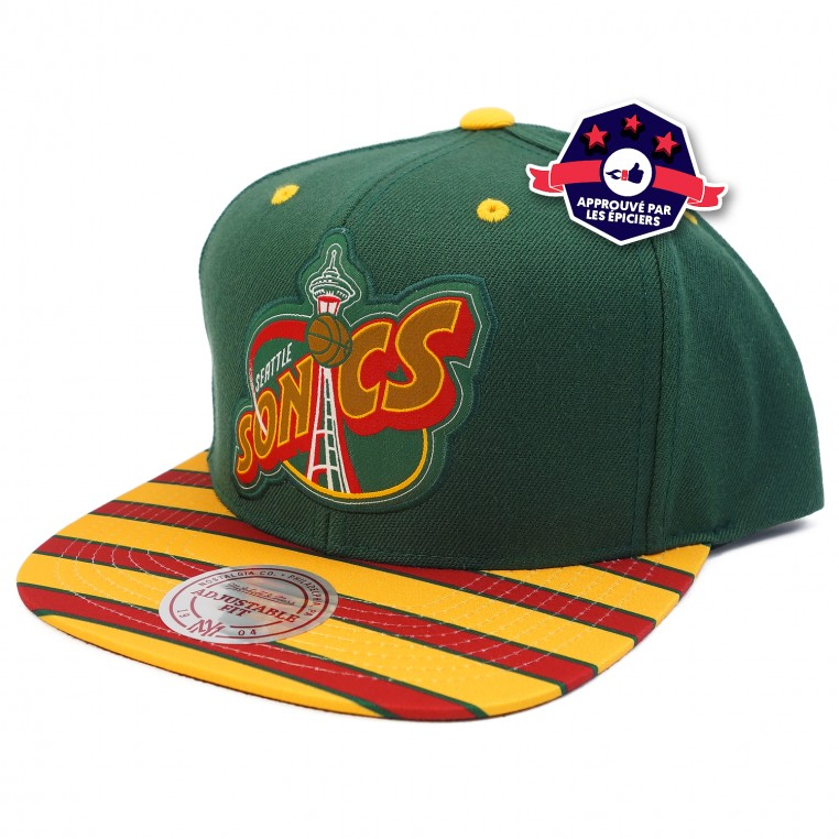 Casquette - Seattle SuperSonics - Mitchell & Ness