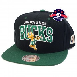 Snapback - Milwaukee Bucks - Mitchell & Ness