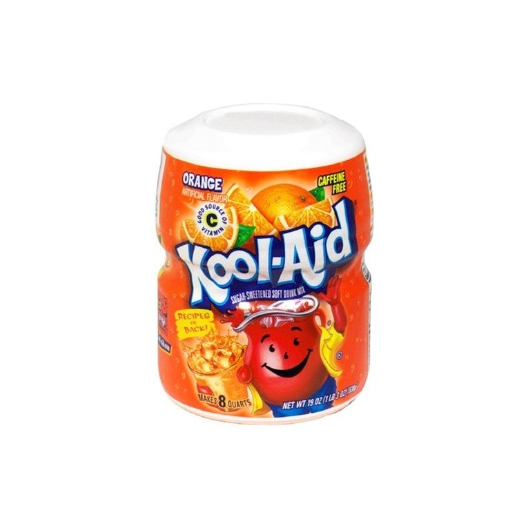 Mix en poudre de Kool Aid Orange - 538g