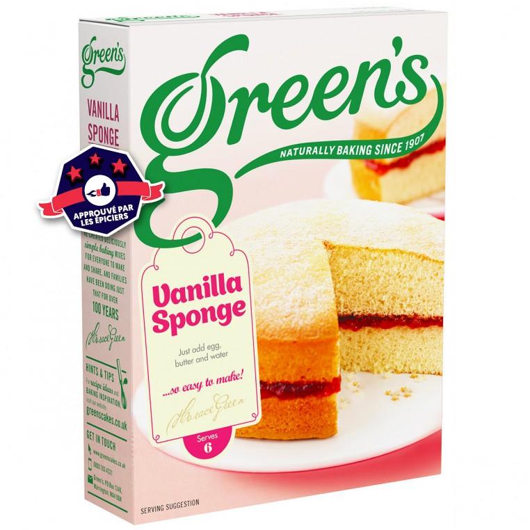 Préparation pour Gâteaux - Vanilla Sponge - 221g
