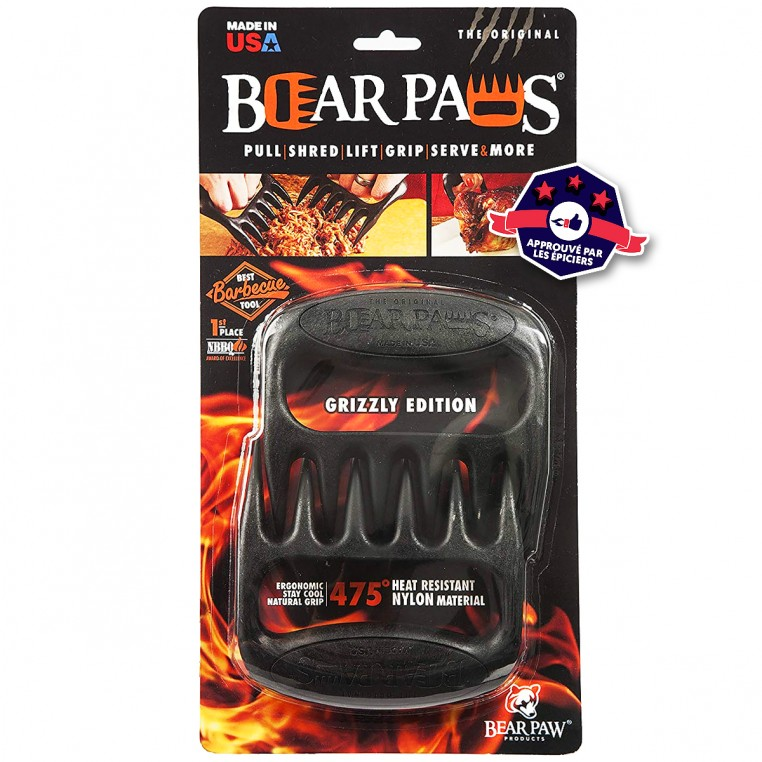Bear Paws - Pattes d'Ours pour barbecue