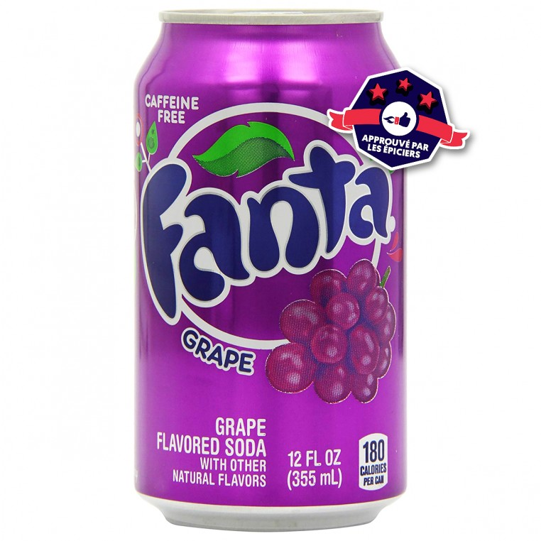 Fanta Grape - Soda Raisin