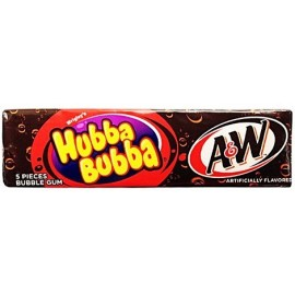 Chewing gums Hubba Bubba A&W Root Beer