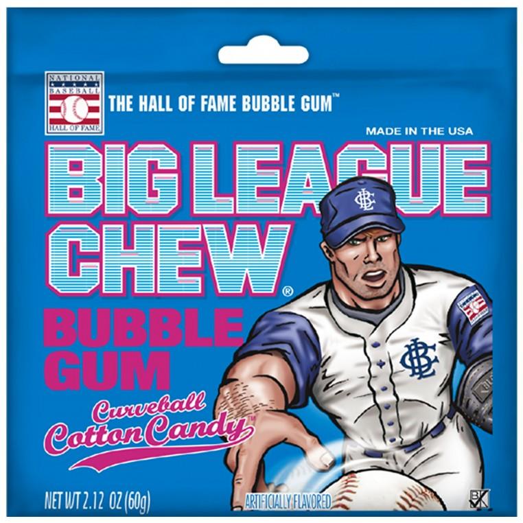 Chewing-gum - Barbe à Papa - Big League Chew