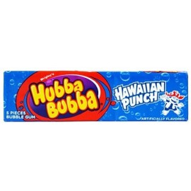 Chewing gums Hubba Bubba Hawaiian Punch