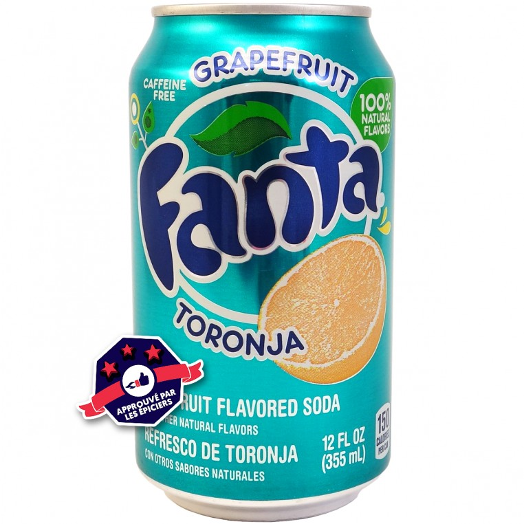 Fanta - Pamplemousse - 355ml